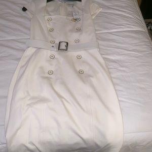 White dress size 8 white house black market